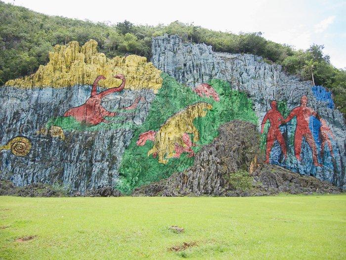 23 Mur de la préhistoire, Leovigildo González Morillo (1961), vallée de Viñales